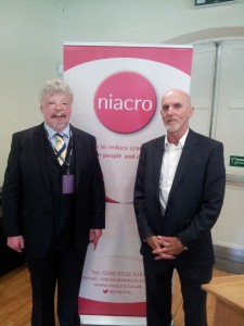 Simon Weston and Bob Ashford at Niacro conference