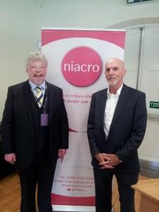Simon Weston and Bob Ashford at Niacro conference
